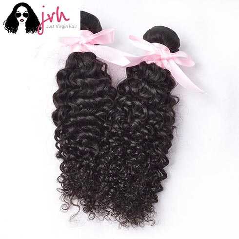 2 Bundles Brazilian Curly Wave Virgin Hair