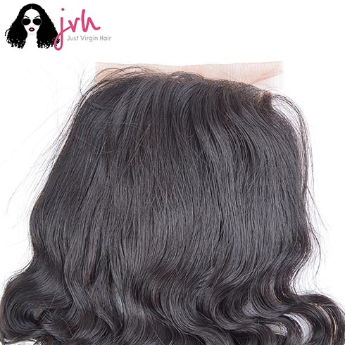 Indian Virgin Hair Deep Wave Lace Closure