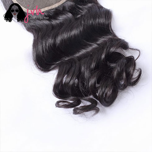 Brazilian Loose Wave 5x5 Lace Closure With Baby Hair