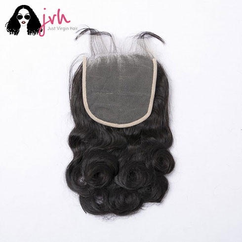 Brazilian Loose Wave 5x5 Transparent Lace Closure