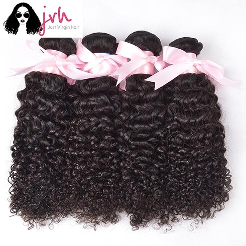 Brazilian Curly Virgin Hair 4 Bundles In Pack