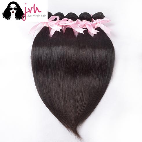 Brazilian Straight Virgin Hair 5 Bundles In Pack