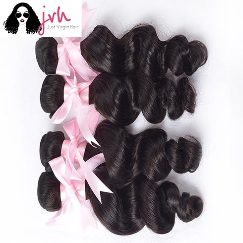 Brazilian Loose Wave 4 Bundles In Pack