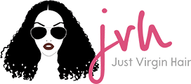Just Virgin Hair Company Logo