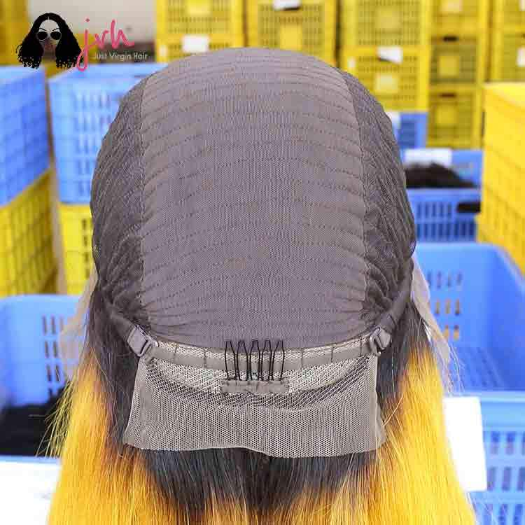 Yellow 13X4 Lace Front Wig 13*4 150% Density