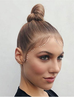 2020 Popolar Hairstyles - Baby Hair Around Forehead
