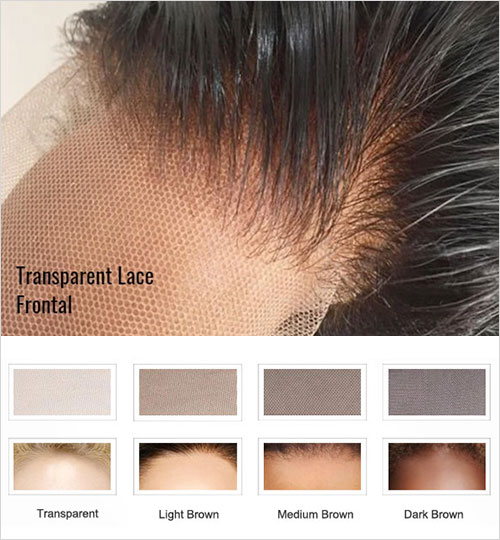Justvirginhair - Transparent Lace Wigs