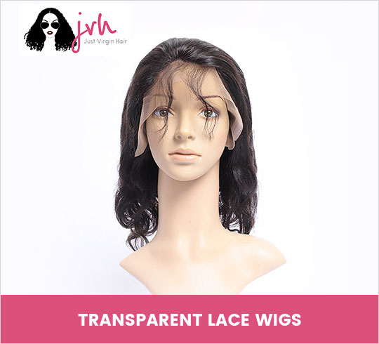 Justvirginhair - Transparent Lace Front Wigs