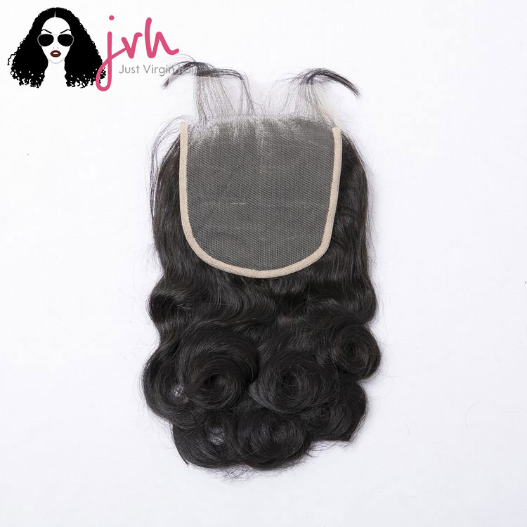 Brazilian Loose Wave 5x5 Transparent Lace Closure 1